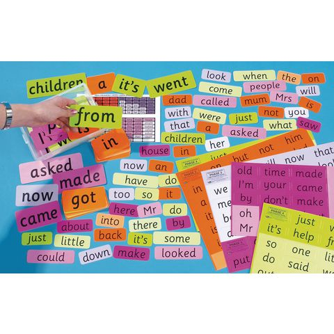 Teachers High Frequency Word Card Set