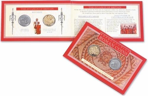 Roman Coin Set 1 - The Invasion of Britain