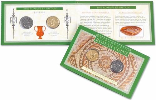 Roman Coin Set 2 - The Romans in Britain