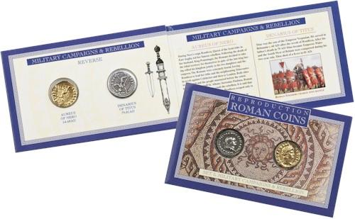 Roman Coin Set 3 - Military Campaigns & Rebellion