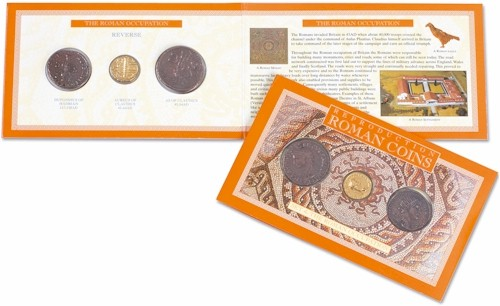 Roman Coin Set 4 - The Roman Occupation