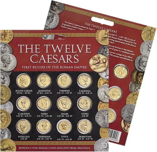 Twelve Caesars Aureus Coin Pack