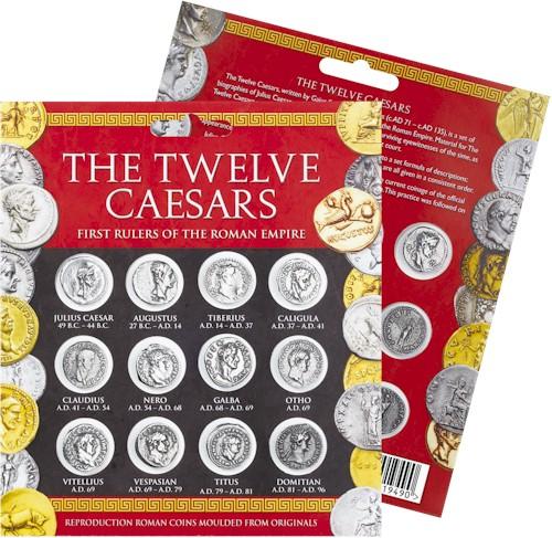 Twelve Caesars Denarius Coin Pack