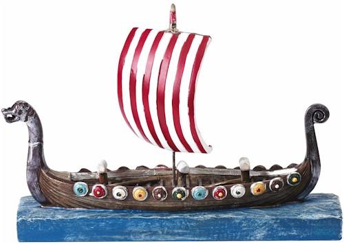 Viking Ship Model 15cm