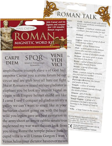 Roman Magnetic Word Kit