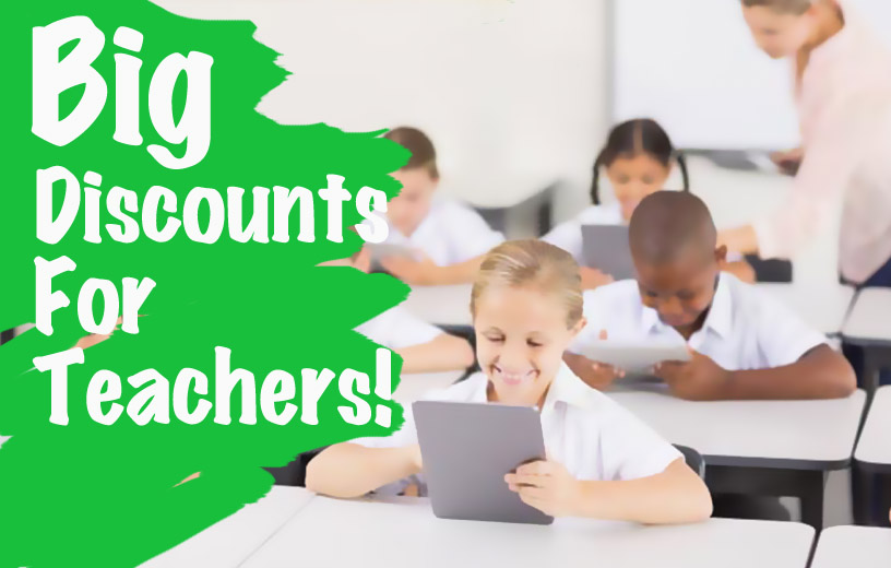 big discounts teachtastic