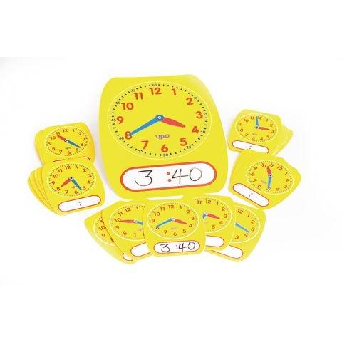 25 Dry Wipe Clock Dials