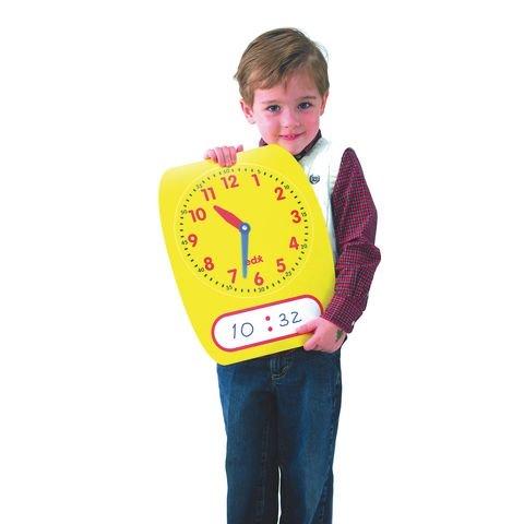 Dry Wipe Demonstration Clock
