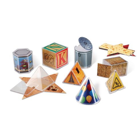 Real World Geometric Shapes Set