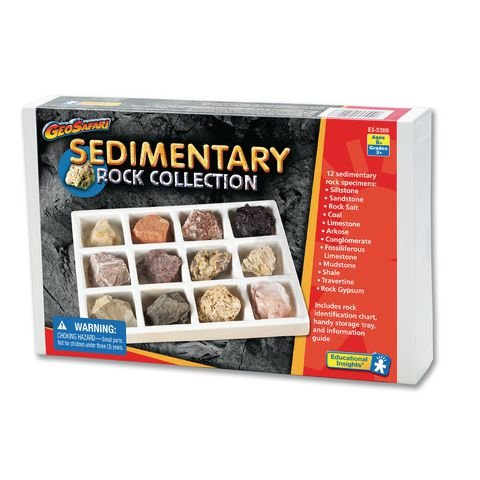 Geosafari® Sedimentary Rock Collection - Activity guide included