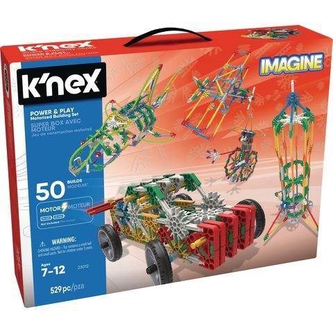 K'nex Power and Play 50 Model Motorised Building Set