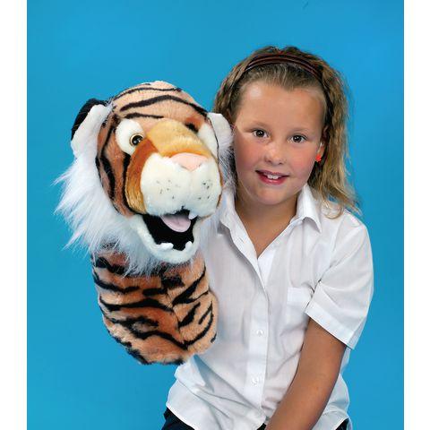 tiger puppet head